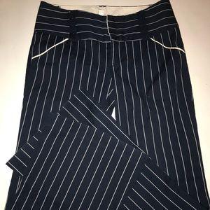 Alice + Olivia striped flare trousers
